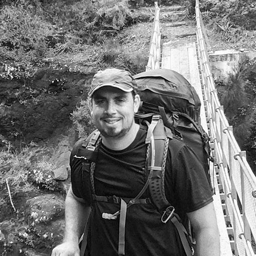 Danny John Ledroit, accompagnateur en montagne