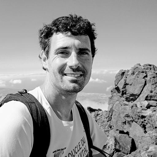Guillaume Barbier, accompagnateur en montagne