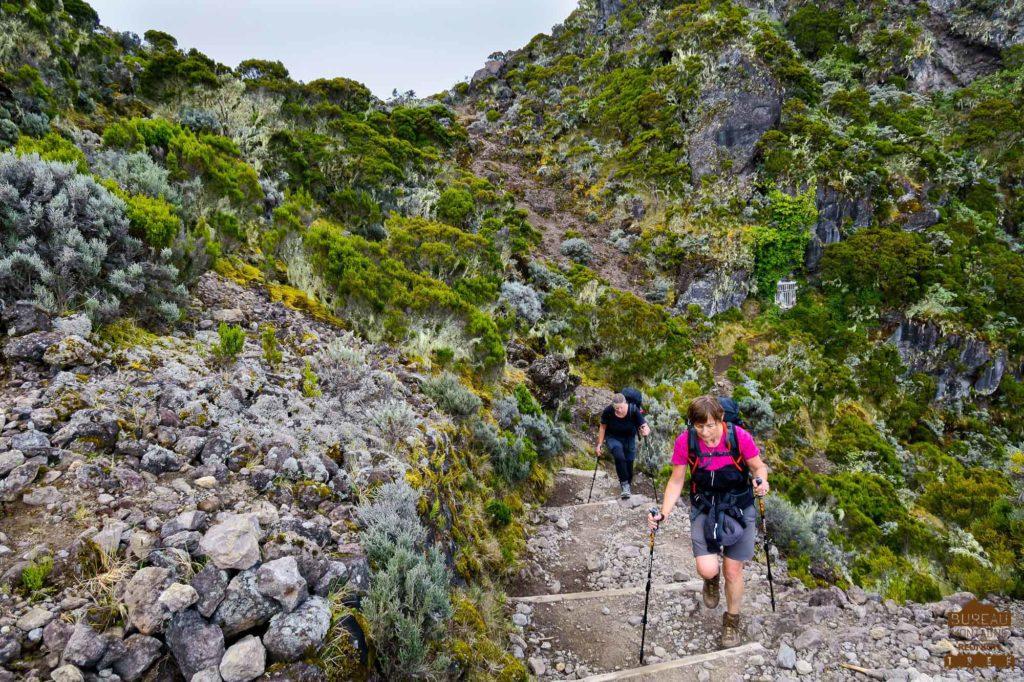 randonnée réunion trek agence GRR2 diagonale traversée gros morne cilaos le bloc