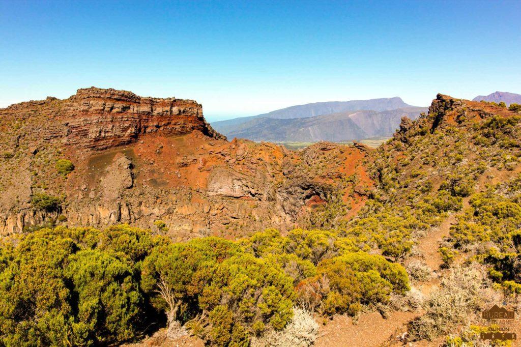 randonnée réunion trek agence GRR2 diagonale traversée cratere commerson fournaise