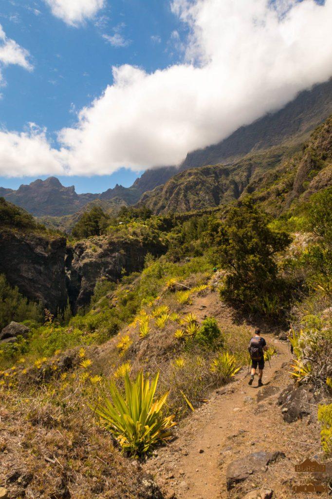mafate randonnée réunion trek agence GRR2 diagonale traversée trois roches