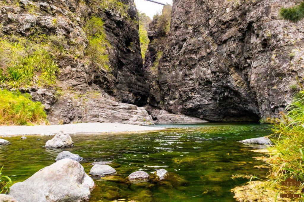 Le bassin du bras d'Oussy mafate réunion trek 974 guide rando