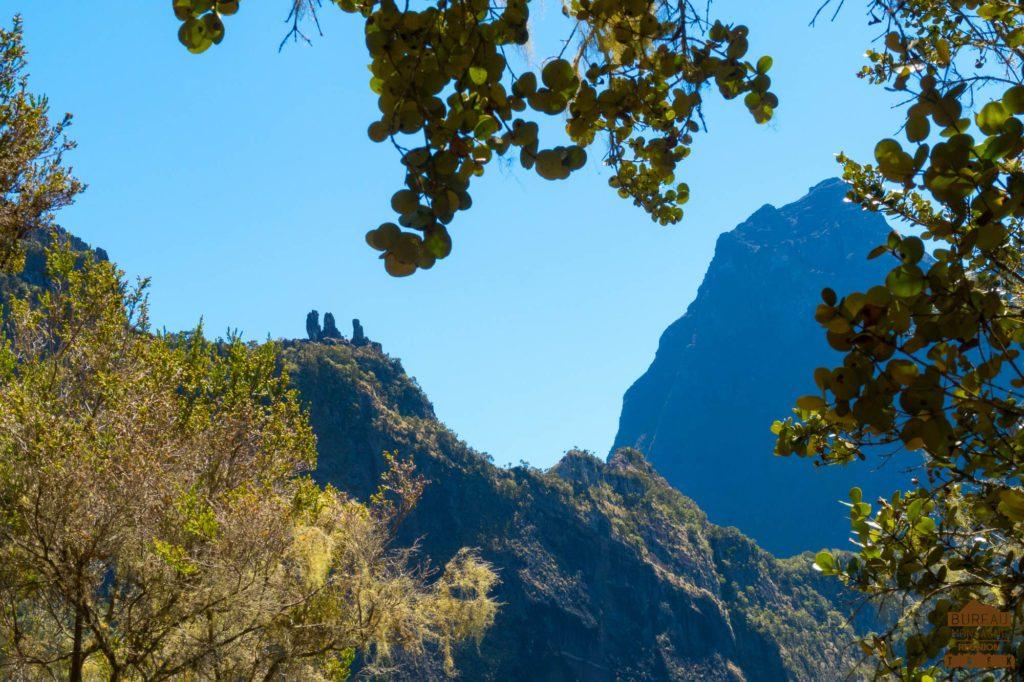 Les Trois Salazes le Gros Morne cilaos rando réunion 974 trek