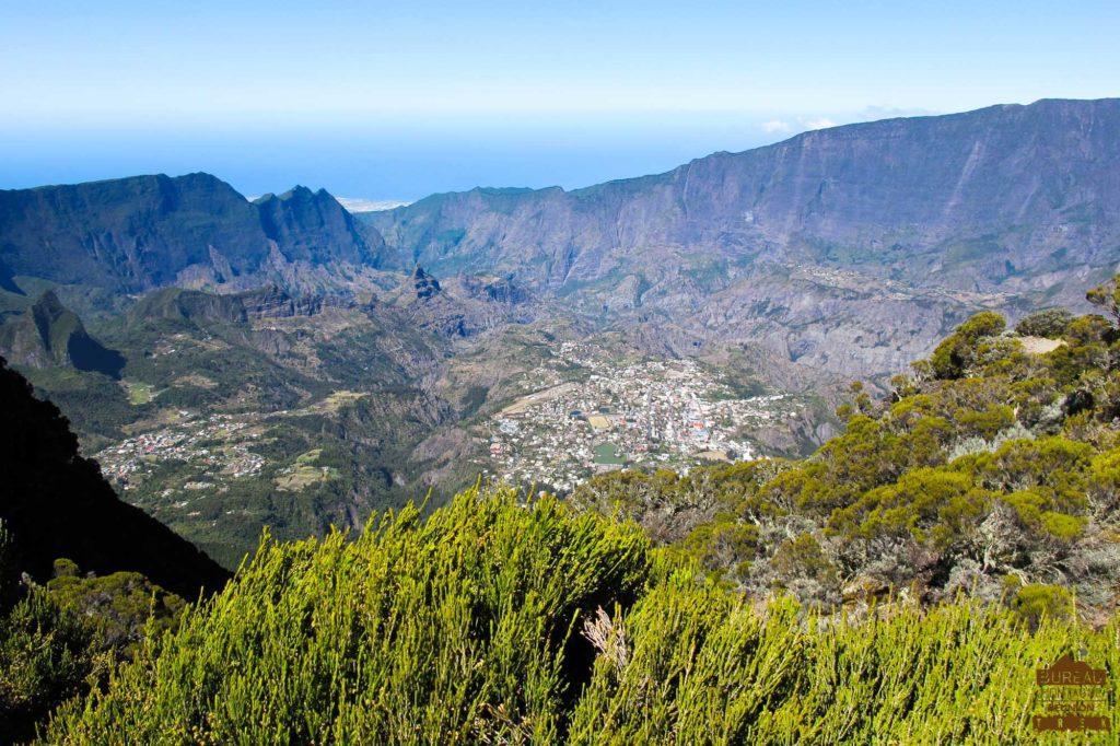 panorama Le cirque de Cilaos réunion randonnée guide 974