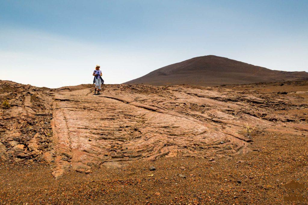 randonneur Hors-sentiers dans la Plaine des Sables piton chisny trek guide réunion 974