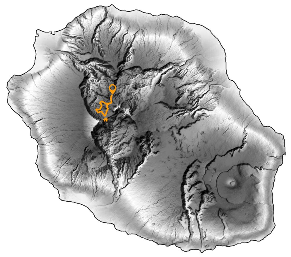 carte trek découverte du haut mafate
