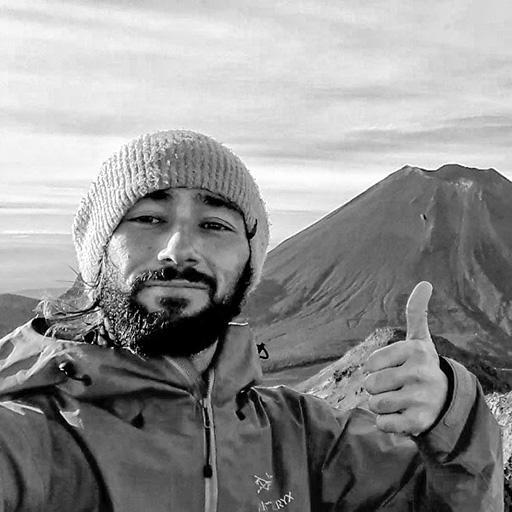 Renaud Piton, accompagnateur en montagne